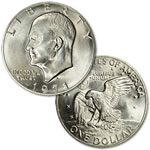 1971 U.S. Eisenhower Dollar Coin