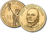 2008-P John Quincy Adams Presidential Dollar Coin