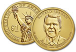 2016-D Ronald Reagan Presidential Dollar Coin