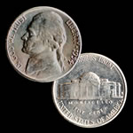 U.S. 1954-S Jefferson Nickel - Uncirculated