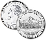 2010-P Mt. Hood National Forest Quarter - Uncirculated
