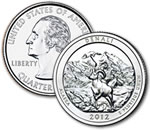 2012-P Denali National Park and Preserve Quarter - Uncirculated