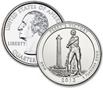 2013-D Perry's Victory and International Peace Memorial Quarter - Uncirculated