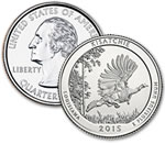 2015-P Kisatchie National Forest Quarter - Uncirculated