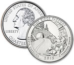 2015-P Blue Ridge Parkway Quarter - Uncirculated