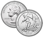 2016-P Fort Moultrie National Monument Quarter - Uncirculated