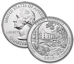 2017-P Ozark National Scenic Riverways Quarter