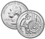 2019-P Lowell National Park Quarter - Uncirculated