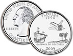 2004-D Florida Statehood Quarter