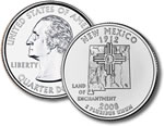 2008-P New Mexico Statehood Quarter