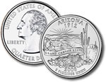 2008-P Arizona Statehood Quarter