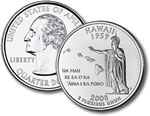 2008-P Hawaii Statehood Quarter
